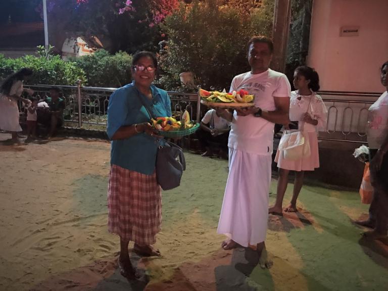 sri lanka kataragama ceremony