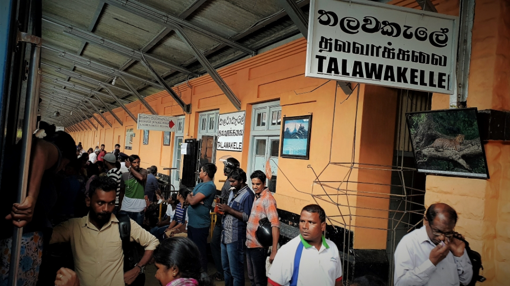 Sri Lanka Talawakelle Train Station