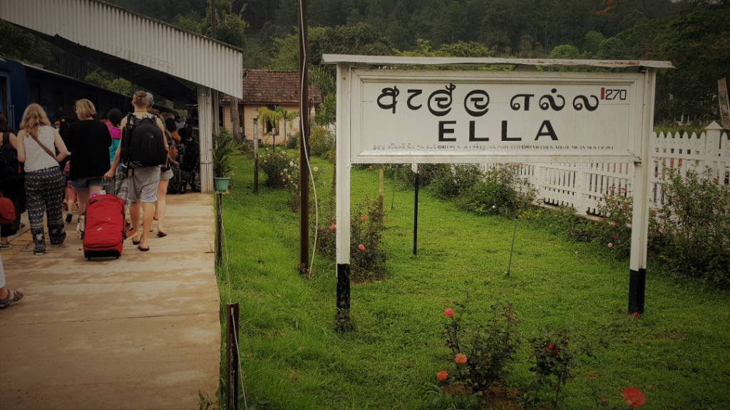 Sri Lanka train station Ella