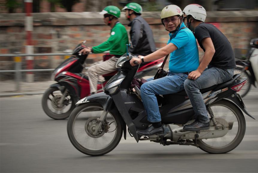 Vietnam Hanoi bike