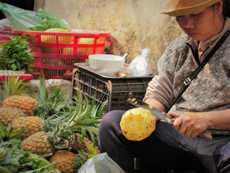 Vietnam hanoi pineapple