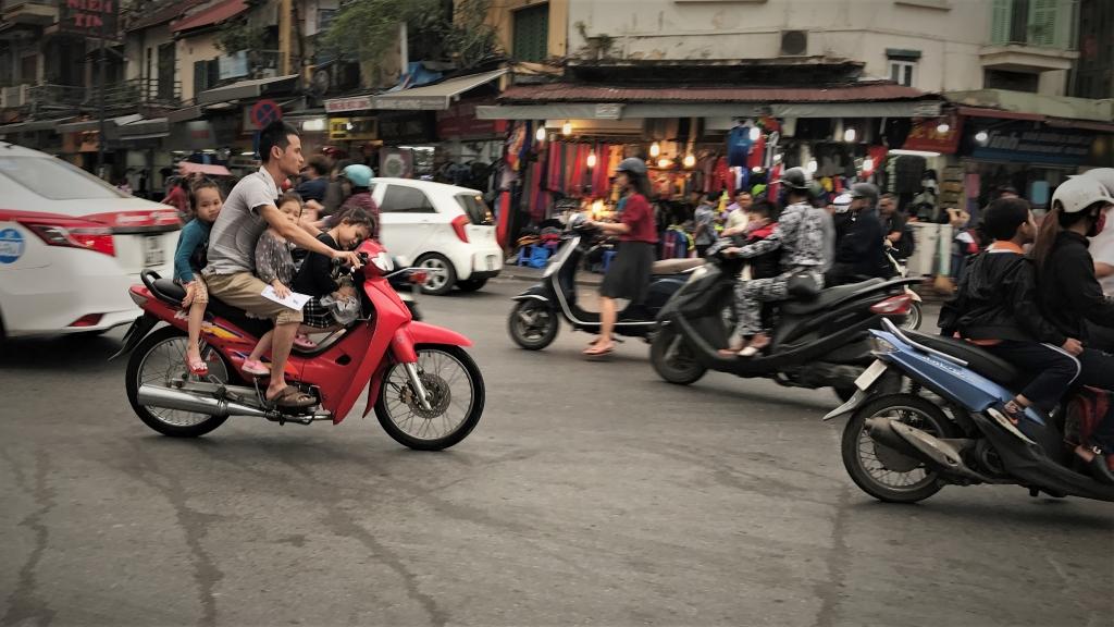Vietnam Hanoi Traffic