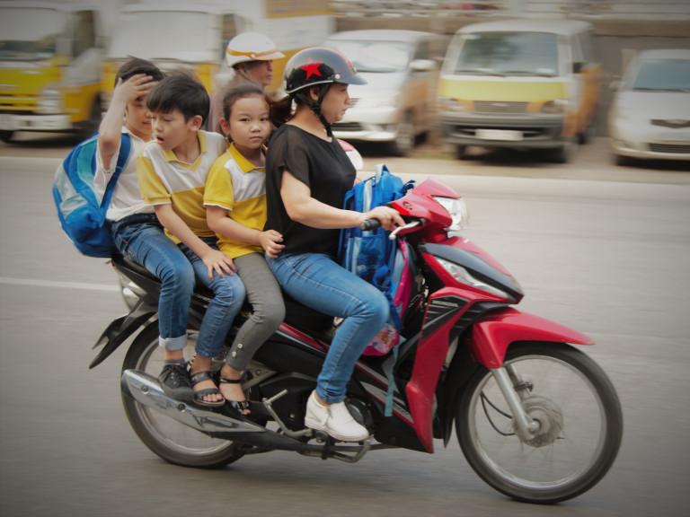 Vietnam Hanoi transport